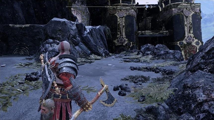 Dành thời gian đi thám hiểm trong map God of War