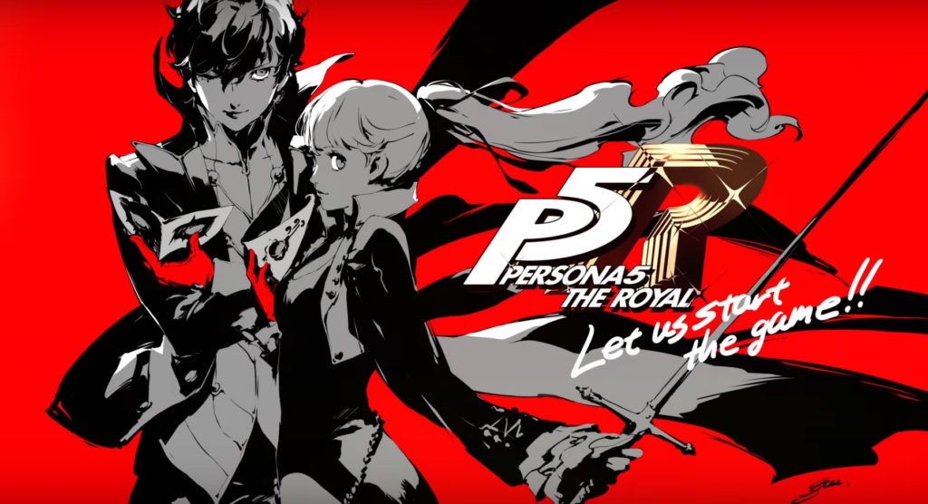game anime persona 5