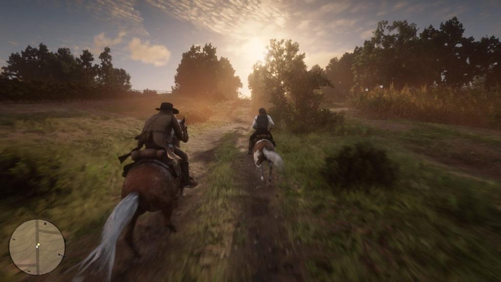 Tương tác với thế giới Red Dead Redemption 2