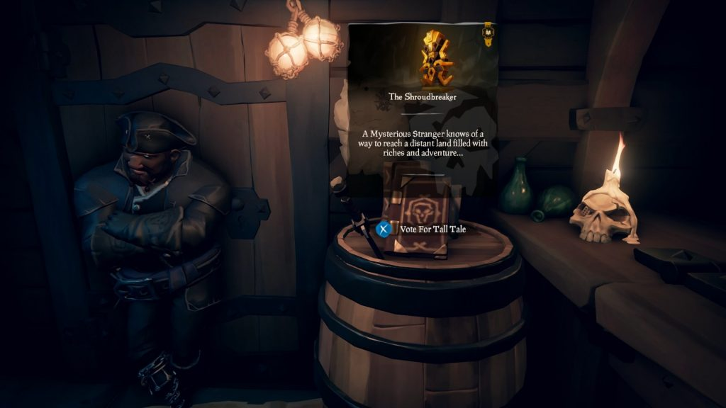 tall tales sea of thieves
