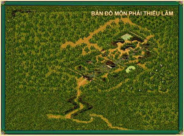Vị trí địa lý của môn phái Thiếu Lâm